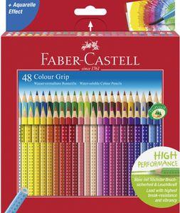 FABER-CASTELL Dreikant Buntstifte Colour GRIP 48er Etui