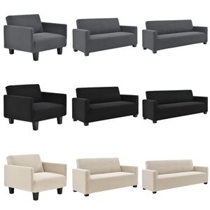 [neu.haus]® Sesselbezug 70-120cm Sesselhusse Schwarz 1-Sitzer Sesselüberzug Schonbezug