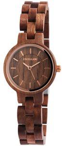 Holz Uhr braun Damenuhr 1800194-004 Gliederarmband