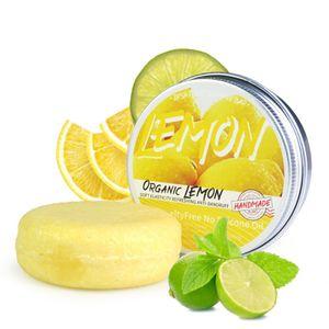 Organischen Shampoo Bar Natürliche Pflanzliche Klärung Shampoo Handgemachte Aromatherapie Haar Shampoo Farbe Zitrone