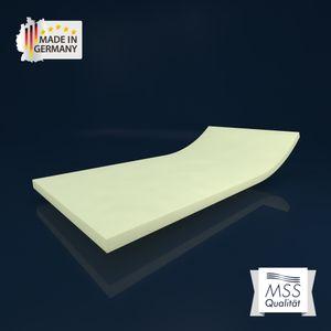 MSS® viscoelastische Matratzenauflage ohne Bezug - Kernhöhe 4 cm - 80 x 200 cm