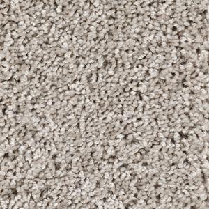 Teppichboden, Auslegware, Meterware, 400 cm x 350 cm, hellgrau, Frise