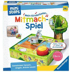 RAVENSBURGER ministeps Mein Kinderlieder-Mitmachspiel Lernspiel mit Musikbox
