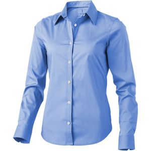 Elevate Damen Hemd Hamilton, langärmlig PF1838 (XL) (Hellblau)