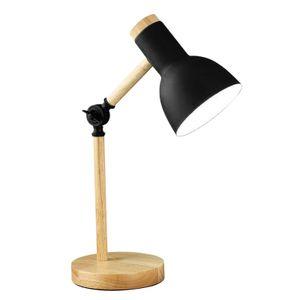 Mehrgelenk verstellbare Schreibtischlampe Büro Wohnheim 450 x 150 mm Schwarz 5W Art Deco