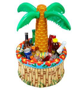 Aufblasbare Palme mit Getränkekühler 62 cm