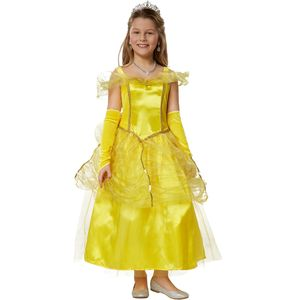 dressforfun Mädchenkostüm Prinzessin Belle - 104 (3-4 Jahre)