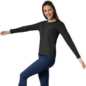 dressforfun Langarm-Shirt Frauen - schwarz, L