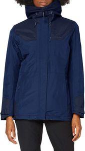 Jack Wolfskin Brecon Range Insulated Outdoorjacke Blau - Damen, Größe:XXL