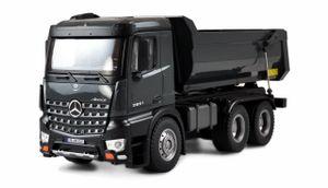Mercedes LKW Kipper PRO Metall V2 RTR grau Lizenzfahrzeug + zusätzl. Akku, 2,4GHz