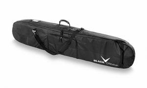 BLACK CREVICE - Snowboard Tasche mit Schuhfach - 170 x 26 x 8 cm - Schwarz