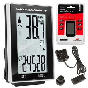 Fahrrad Computer Tacho Kilometerzähler Tachometer Digital Biketacho  16 Funktionen ✔ Kabelgebunden ✔ Montageset ✔
