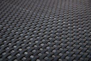Rattan Art Polyrattan Balkonsichtschutz - Anthrazit 1m x 5m Zaunblende Windschutz