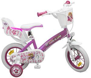 12 Zoll Disney Kinder Mädchen Fahrrad Kinderfahrrad Mädchenfahrrad Mädchenrad Kinderrad Rad Bike Paw Patrol PINK