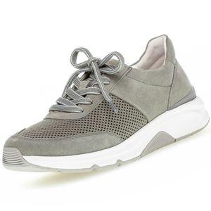 GABOR Rollingsoft Damen Sneaker Grau, Schuhgröße:EUR 39