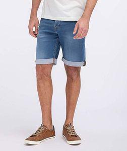MUSTANG Herren Hose Chicago Short Regular Fit Farbe: mittelblau Größe: 34