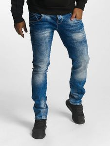 Cipo & Baxx Männer Slim Fit Jeans Ian in blau Cipo & Baxx