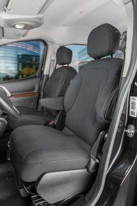 Walser Sitzbezüge für Citroen Berlingo 2 für Einzelsitze vorne aus Stoff ab BJ 05/2008 - heute, 10535