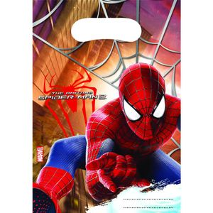 6 Marvel The Amazing Spiderman 2  Kinder Geburtstag Party Tüten 23x16cm