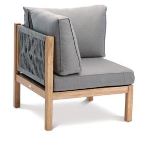 BEST Eckteil Lounge Madagaskar Grandis/grau, 52715267 braun
