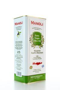 MANOLI Extra natives Olivenöl aus Kreta 5 Liter Kanister  kaltgepresst