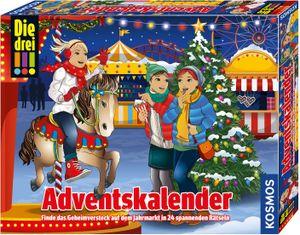 Arvato Media/Franckh-Kosmos Adventskalender 2019 Die drei !!!