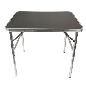 Wohaga® Klapptisch 'Amsterdam' Aluminium 75x55x60cm Anthrazit