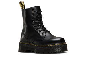 Dr. Martens Jadon Polished Smooths Damen Boots Stiefel Schuhe Schwarz, Größe:36