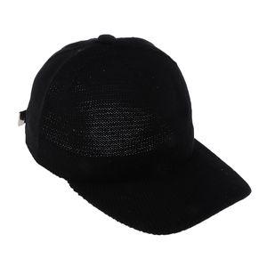 1 Stück stricken Schirmmütze Farbe Schwarz