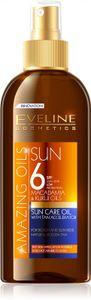 Eveline Cosmetics - Bräunungsöl SPF6 - Amazing Oils Sonnenpflegeöl mit Bräunungsbeschleuniger Spf6