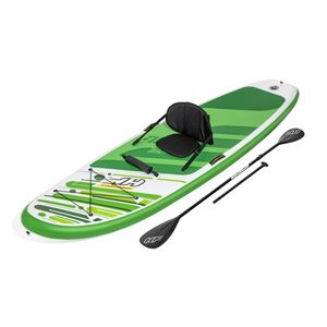 Bestway Hydro-Force™ SUP Touring Board-Set Freesoul Tech mit Paddel und Kajak-Sitz, 340x89x15cm, 65310