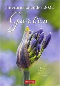 Literaturkalender Garten Kalender 2022