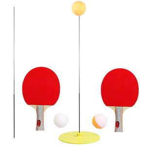 Tischtennistrainer Ping Pong Schlaeger und Baelle Basistraining uebungsset Table Tennis Trainer Ping Pong Rackets and Balls Base Training Practice Set