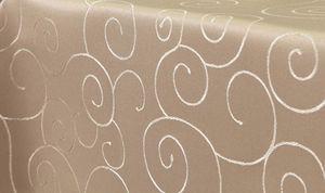 Ornamente Tischdecke Oval 130x220 CAPPUCCINO