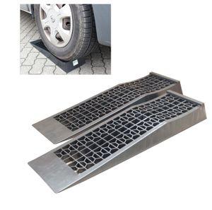 1 Paar Kunststoff Auffahrrampen Ausgleichskeil extra flach PKW, Wohnwagen und Wohnmobil, 3T Traglast