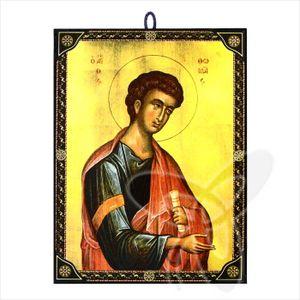 60105 Ikone Thomas (Apostel) icon aus Griechenland Икона Апостол Фома, Томас