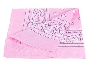 Bandana rosa paisley Zandana 100% Baumwolle 92
