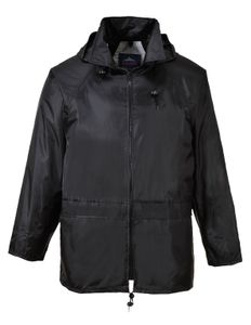Arbeitskleidung PORTWEST S440 schwarz Regenjacke M