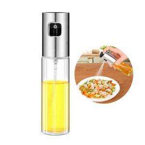 Öl und Essig Sprühflaschen Zerstäuber Ölsprüher Essigsprüher Ölspender Sprühflasche , Glas 100ml