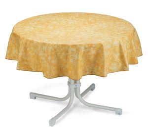 Best Freizeitmöbel Tischdecke rund 130cm Grau, 9810695