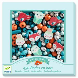 DJECO Wooden beads, Small animals