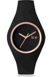 Ice Watch Ice-Glam Uni Armbanduhr schwarz/roségoldfarben ICE.GL.BRG.U.S.14