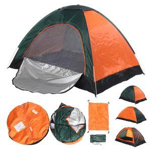 Zelt Sekundenzelt Campingzelt 2-3 Personen Wurfzelt Outdoor Wurfzelt Tent -up