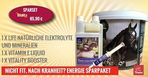 Elektrolyte fürs Pferd I SPARSET I Natürliche Mineralien, Elektrolyt Liquid Booster  ()