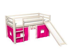 Kinderbett mit rutsche , vorchange,lattenrost,matratze