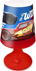 Disney tischlampe CarsJungen 18 cm rot/blau