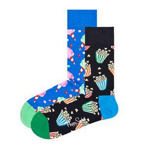 Happy Socks Geschenkbox SNACKS SOCKS GIFT SET 2-PACK XSNA02-6300 Mehrfarbig, Size:36-40
