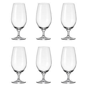 LEONARDO 061637 Cheers 061637 Biertulpe, Glas, 430ml, H 19cm, klar (6 Stück)