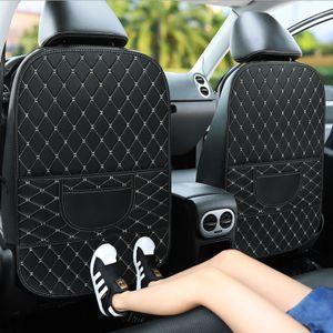 Auto Rückenlehnenschutz, Rückenlehnen Kinder Rücksitztasche, Wasserdichtes Kunstleder Material