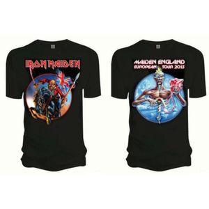 Iron Maiden Euro Tour Mens T Shirt: Medium